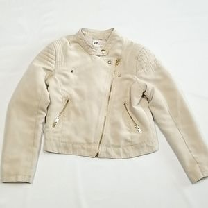 H & M Girls Youth Summer Jacket 8-9 Year Old
